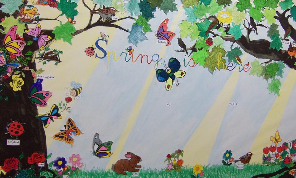 Noticias del colegio de fomento aitana for Como organizar un periodico mural